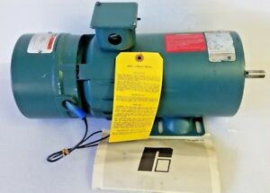 Reliance Electric Power Matched/RPM 3/4 Hp DC Motor w/ Duty Master Unibrake