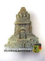 Leipzig Völkerschlacht Magnet Poly Rolle 7 cm ,Souvenir Germany Neu