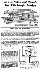Copy of Lionel 356 Freight Station Instructions AND Service and Repair Manual