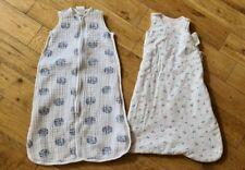 2 Baby Sleeping Bags Aden & Anais Marks Spencer 0-6 Months Girls