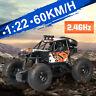 60KM/H 1:22 2.4G Rock Crawler Ferngesteuerter RC Auto Offroad Truck Geschenk H
