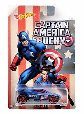 HOT WHEELS CAPITAN AMERICA SPECTYTE DJK75 -  MATTEL