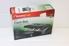 SentrySafe Cb10 Safebox for Small Cash Money Privacy Key Lock Coin Tray Black