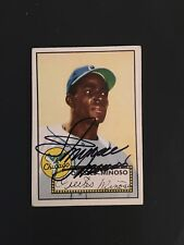 1952 TOPPS BASEBALL #195  ORESTES MINNIE MINOSO(R)EX  FROM THE MASTRO COLLECTION
