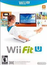 NEW Wii Fit U Nintendo Wii U Exercise Work Out Game **SEALED**