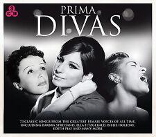 3 CD BOX PRIMA DIVAS STREISAND HOLIDAY PIAF LEE BASSEY CLOONEY WARWICK VAUGHAN