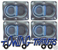 4 Recessed anchor Plates trailer lorry recovery AP02
