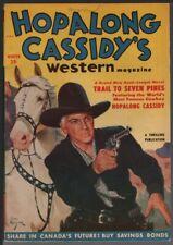 Hopalong Cassidy's Western Magazine 1951 Winter, #2.     Pulp