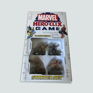 Marvel HeroClix Game Starter Set by WIZKIDS - BNIP/2004/Sealed/Free Post 🐙