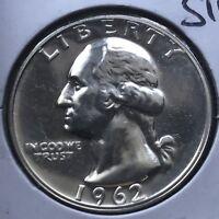 USA 1962 Washington Quarter Proof PP Sehr Selten Polierte Platte Silber