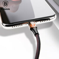 Baseus Intelligent Power off USB Charging Cable for iPhone X 8 6 breathing light