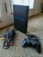Sony Playstation 2 PS2 (FAT) Console Bundle + 1 Controller Model No. SCPH-30001