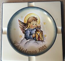 "Schmidt 1985 Christmas plate ""Heavenly Light"" Berta Hummel"