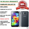 Samsung Galaxy S5 SM-G900F-16GB 4G Unlocked Smartphone Charcoal Black UK GRADE B