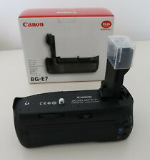 Genuine Canon BG-E7 Battery Grip in original box