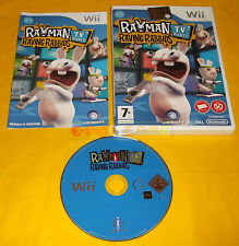RAYMAN RAVING RABBIDS TV PARTY Nintendo Wii Vers Italiana 1ª Ed ○○ USATO - AI