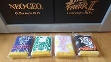 BRAND NEW Neo Geo T Shirt Character Collection JP Neuf Nuevo AES snk mvs cd