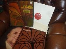 "Bruckner Filarmonica no 5, Bernard Haitink, Philips BOX Holland 2 LP, 12"" Stereo"