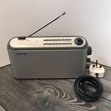 Sony ICF-703L Battery or Mains FM MW LW Radio - including Mains Lead GWC