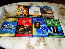 7X LOT NEW DVD 700 CLUB PAT ROBERTSON BE HEALED.MIRACLES GOD, SIGNS OF TIMES,