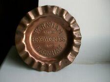 More details for rare farnham united breweries - copper ashtray.