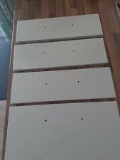 B & Q Stevia gloss cream kitchen drawer fronts for 500mm base unit
