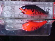 Mann's 20+ Depth Plus Cast/Trolling Lure DRB509 Color FIRE RED FLOURESCENT