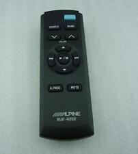 NEW FOR ALPINE CDE-148CBT CD Car audio RUE-4202 Wireless Remote #D2672 LV
