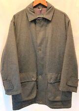 PAUL & SHARK YACHTING WOOL ALPACA Jacket Coat Tiroler Loden Moessmer Italy Large