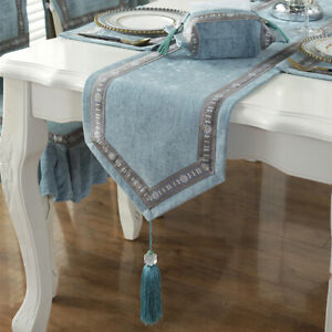 Table Runner Chinese Style Elegant Table Cloth Furniture Dust Cover Home Decor