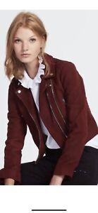 sandro paris 1 Leather Jacket