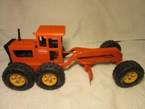 1970's Tonka Road Grader Orange Nice Original!