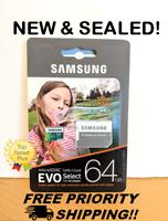 Samsung 64GB 100MB/s (U3) MicroSD SD EVO Card with Adapter - Works with VANTRUE