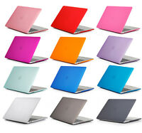 Crystal Hard Case + Keyboard Cover For MacBook Air pro Retina touch bar 11 13 15