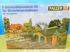 F11 Faller H0 Bausatz Königsbach 5 Gebäudebausätze OVP TOP