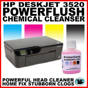 HP Deskjet 3520 Head Cleaner, Nozzle Cleanser & Printhead Unblocker