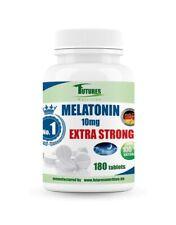 Futures Nutrition  MELATON 10mg-180 Tablett Besserer Schlaf JET LAG Aid Melatoni