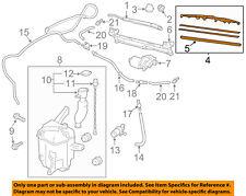 Scion TOYOTA OEM 13-15 tC Wiper Arm-Front Blade 8522221030