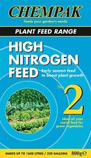 Chempak High Nitrogen Green Vegetable Feed Fertiliser No. 2 800g