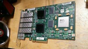 LSI 7404EP Quad Port 4Gbps PCIe fiber channel FC NIC