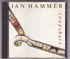 JAN HAMMER - SNAPSHOTS - CD ALBUM MCA GERMANY © 1989/ CD NEAR MINT!