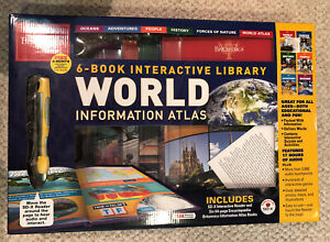 Encyclopedia Britannica Six-Book Interactive Library World Information Atlas