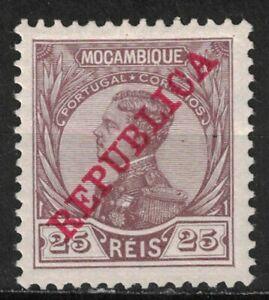 MOZAMBIQUE:1912 SC#118 MH King Manoel X95