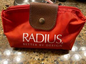RADIUS Toothbrush Travel Set Bag Brush DOC Toothpaste & Cranberry Floss Sachets