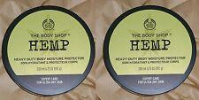 The Body Shop Butter 2x HEMP Heavy Duty Moisture Body Protector NEW - Lot of 2