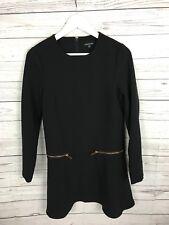 Vestido de fiesta para Mujer de almacén Floaty-tamaño UK10-Negro-Excelente Estado