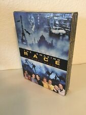 The Amazing Race - The Complete First Season 1 (DVD, 2005, 4-Disc Set) VGUC