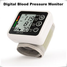 Automatic digital wrist blood pressure pulse monitor portable blood pressure