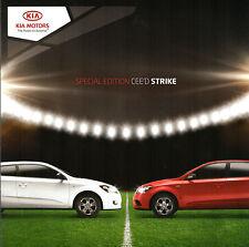 KIA CEE 'D & PRO CEE avrebbe Strike Limited Edition 2010 UK Opuscolo Vendite sul mercato