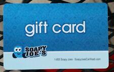 Soapy Joe's Car Wash Gift Card $46